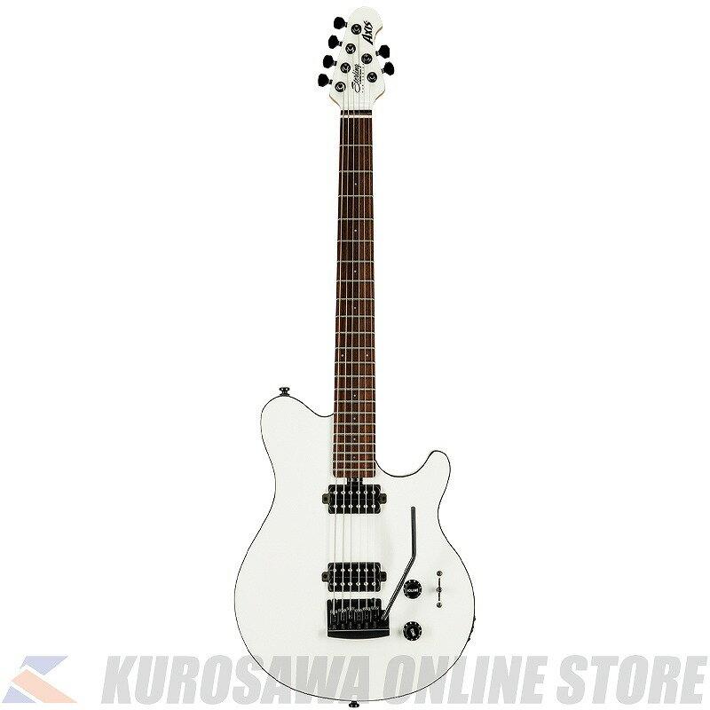 ギター, エレキギター Sterling by MUSIC MAN S.U.B.Series Axis -White- ()ONLINE STORE