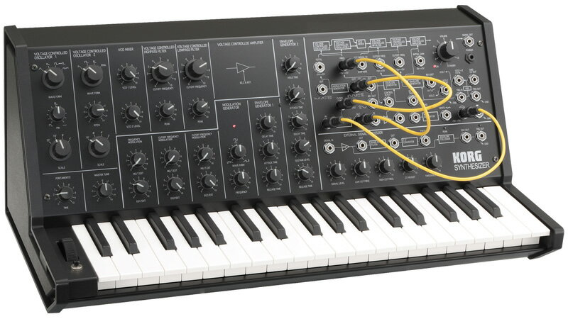 ピアノ・キーボード, キーボード・シンセサイザー KORG MS-20 mini Monophonic Synthesizer smtb-uONLINE STORE