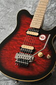 Sterling by MUSICMAN AX40D-RRB Maple Fingerboard (Ruby Red Burst)【送料無料】