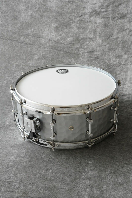 ドラム, スネア TAMA S.L.P. SOUND LAB PROJECT Series LST1455H Vintage Hammered Steel 14x5.5 ONLINE STORE