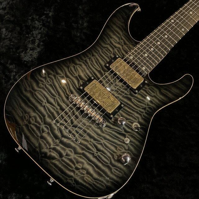 ギター, エレキギター SCHECTER EX-2B-24-7st-CTM-TOM wBareknuckleJuggernautG-CLUB