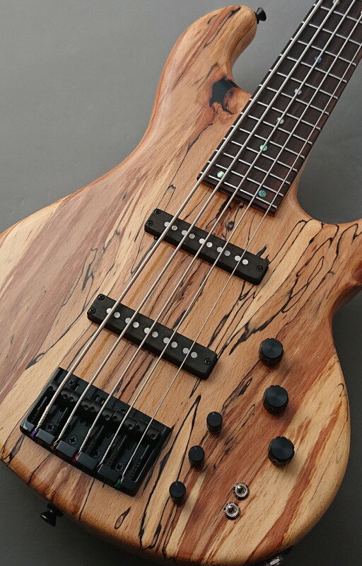 ベース, エレキベース 331dragonfly CS-5CTM -Spalted Maple Top 10mm Alder- G-CLUB
