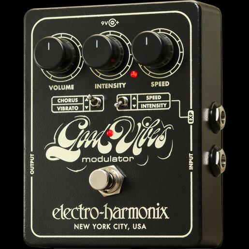 Electro-Harmonix Good Vibes [Analog Modulator][エレクトロハーモニクス][エレハモ][エフェクター]【G-CLUB渋谷】