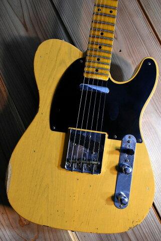 Fender Custom Shop 1954 Telecaster Relic KG0418 Butter Scotch Blonde CZ543094【材選定モデル!】【横浜店】