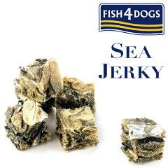 フィッシュ4ドッグ(FISH4DOGS) シージャーキー ティドラー 100g ●タラの皮を乾燥し圧縮した...