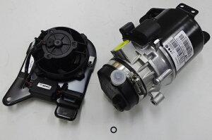【1年保証付/送料無料】BMWMINIミニR50R52R53/電動パワステポンプ+パワステ電動ファン2点セット新品(32416778425+32416857718)