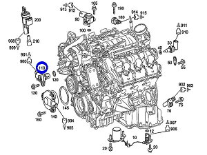 Mercedes C300 Engine Diagram Mercedes C240 Engine Diagram