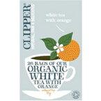 【MIE PROJECT】 クリッパー オーガニック ホワイトティー withオレンジ 45g(エコティーバッグ26P)【05P03Dec16】