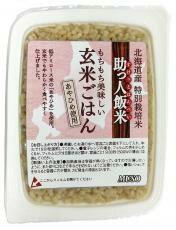 【ムソー】 助っ人飯米・玄米ごはん 160g(リニュアル)
