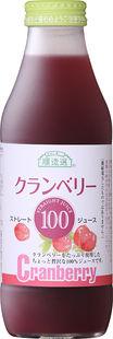 クランベリー100(ストレート) 500ml【マルカイコーポレーション株式会社】【05P03Dec16】