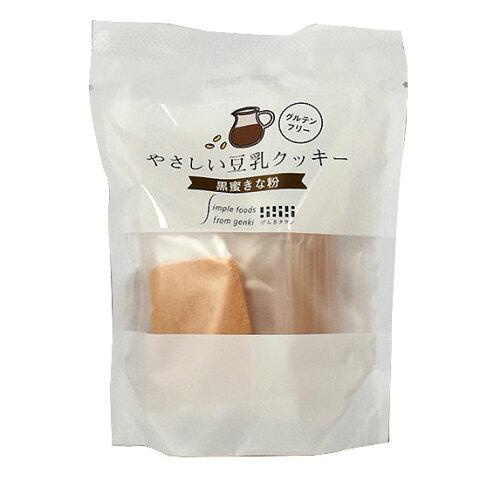 やさしい豆乳クッキー 黒蜜きな粉(7枚入り)×6個セット【結縄・別送料】【げんきタウン】