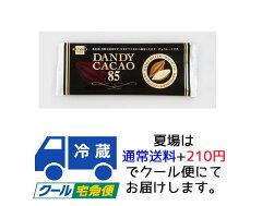 【健康フーズ】 DANDY CACAO・ダンディココア チョコレート 80g(冬季限定品)