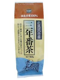 健康フーズ三年番茶(国産茶葉100%)160g