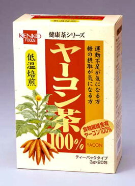 【健康フーズ】 ヤーコン茶(TB)3g×20包【05P03Dec16】