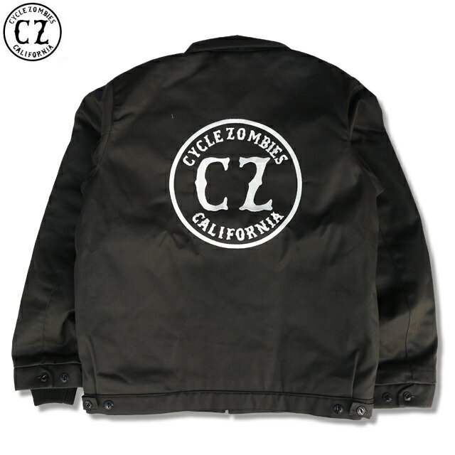 CYCLE ZOMBIES サイクルゾンビーズxBLUCO CALIFORNIA WORK JACKET BLACK
