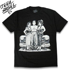 "TEEN ANGEL ""BOMBS & BABES"" Tシャツ BLACK"