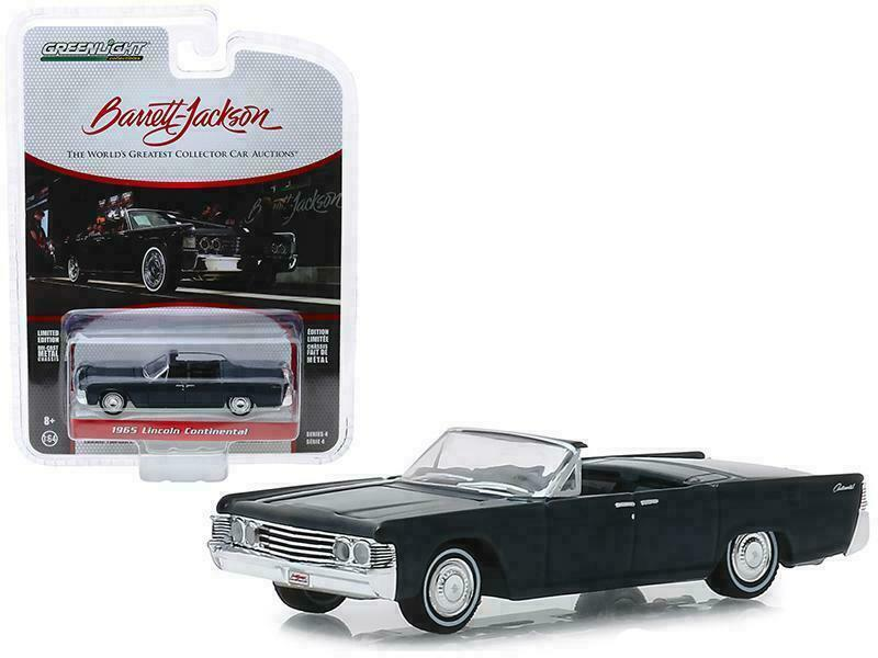 車, ミニカー・トイカー GL-524 GREENLIGHT BARRET JACKSON REL.4 1965 Lincoln Continental Custom Convertible