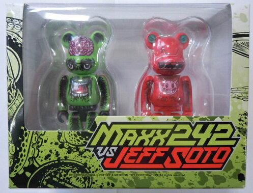 トップス, その他 Medicom Toy BERBRICKZacPac MAXX242 vs Jeff Soto BERBRICK 2