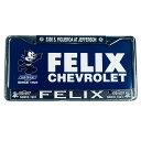 FELIX CHEVROLET ORIGINAL Felix Chevrolet Plastic License ...