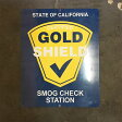 AN217 USED(中古) VINTAGE ANTIQUE SIGN ビンテージサイン STATE OF CALIFORNIA SMOG CHECK STATION 76CMx61CM