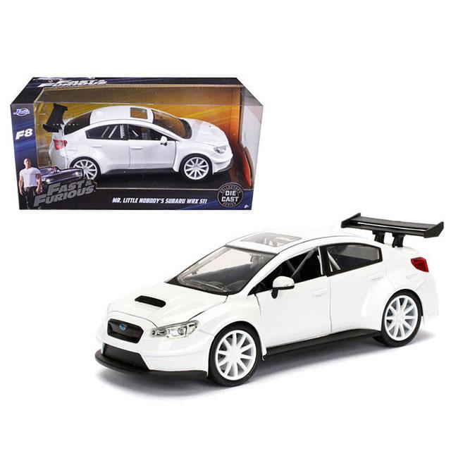 車, ミニカー・トイカー JADA TOYS 1:24SCALE FAST AND FURIOUS MR. LITTLE NOBODYS SUBARU WRX STI