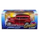 JADA TOYS ジャダトーイズ 1:24SCALE -STREET LOW- 1939 CHEVROLET MASTER DELUXE RED MIJO E...