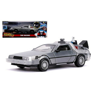 JADA TOYS ジャダトーイズ 1:24SCALE - Hollywood Rides - Back To The Future Part II Time Machine with Try-Me & Lights