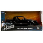 JADA TOYS ジャダトーイズ 1:24SCALE FAST AND FURIOUS ファストアンドフューリアス ワイルドスピード - Dom's Buick Grand National (Black) ミニカー