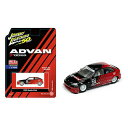 JL-163 JOHNNY LIGHTNING 50thANNIVERSARY 1998 HONDA CIVIC Advan Yokohama Limited Edition 4,800 MiJo Exclusives (blackred)
