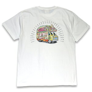 """KUSTOMSTYLE KST1906COLWH """"TACO MESA FOOD TRUCK"""" COLOR PRINT WHITE Tシャツ"""