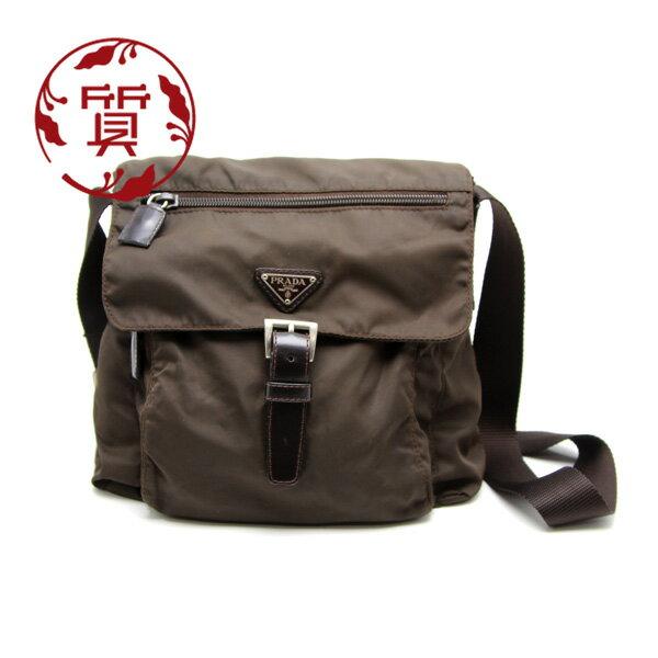 產品詳細資料,日本Yahoo代標|日本代購|日本批發-ibuy99|包包、服飾|包|女士包|【楠本質店/元住吉】プラダ/PRADA ナイロンショルダーバッグ  BORSA IN TESSUT…