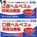 【第1類医薬品】アシクロビル軟膏α 2g × 2個セット【奥...