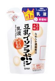 サナ なめらか本舗 豆乳イソフラボン含有の乳液 乳液 NA つめかえ用 (130ml) くすりの福太郎