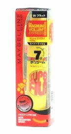メイベリン ボリュームエクスプレス マグナム スーパーフィルム 【01ブラック ボリュー...
