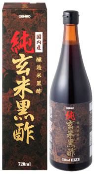 オリヒロ 純玄米 黒酢 (720mL) ※軽減税率対象商品