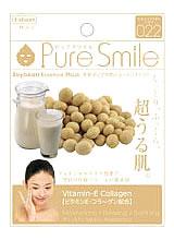 サンスマイル Pure Smile ピュアスマイル エッセンスマスク 大豆イソフラボン 022 (1枚入) フェイスマスク くすりの福太郎