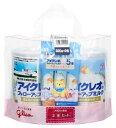 グリコ アイクレオ アイクレオのフォローアップミルク 9ヶ月頃から (820g×2缶セット) スティックタイプ5本付き 粉ミルク くすりの福太郎