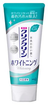 花王 クリアクリーン ホワイトニング クリアミント 薬用ハミガキ (120g) 【医薬部外品】
