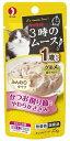 くすりの福太郎 楽天市場店で買える「ペットライン キャネット 3時のムース 1歳から かつお削り節入り やわらかささみ (25g キャットフード 猫用おやつ」の画像です。価格は73円になります。