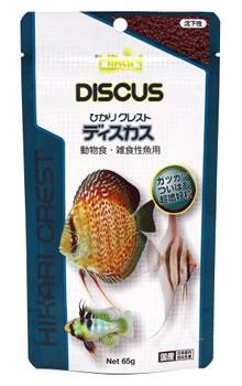 キョーリン ひかり クレスト ディスカス (65g) 動物食・雑食性魚 エサ