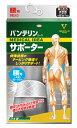 興和新薬 バンテリンコーワ サポーター 腰用ゆったり大きめサイズ シャイニンググレー 1個 [3207]