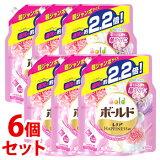 【特売】 《セット販売》 P&G ボールド アロマティックフローラル&サボンの香り つめかえ用 (1.58kg)×6個セット 詰め替え用 超ジャンボサイズ 柔軟剤入り洗剤 【P&G】