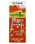 伊藤園理想のトマト紙パック200ml×24本セット(1ケース)※沖縄・周辺の離島への発送は出来ません