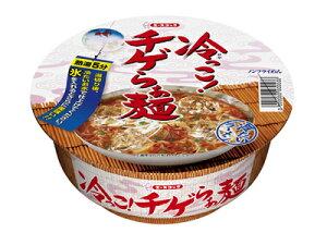 ☆某番組で大反響!エースコック 冷っこ!チゲらぁ麺 106g(めん 65g)