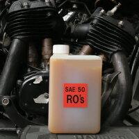 【RO'sオイル(ローズオイル)】1Lサイドバルブ・ナックル・パンから、ショベル・エボ・ツインカムまで。ハーレー以外(旧英車等の空冷車)にも。