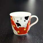 九谷焼ミニマグカップ(デミタスカップ)マチネコ