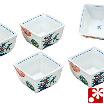 九谷焼 小鉢 5個 セット 花鳥( 和食器 おしゃれ )