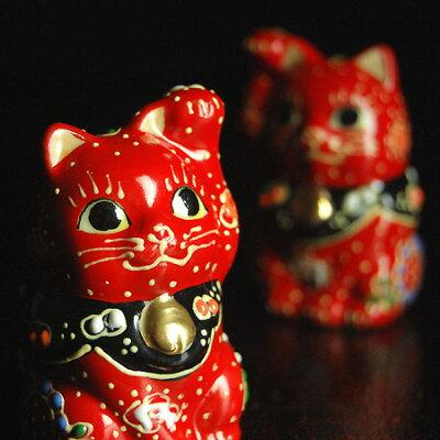 手乗りサイズの九谷焼 ちび招き猫シリーズ