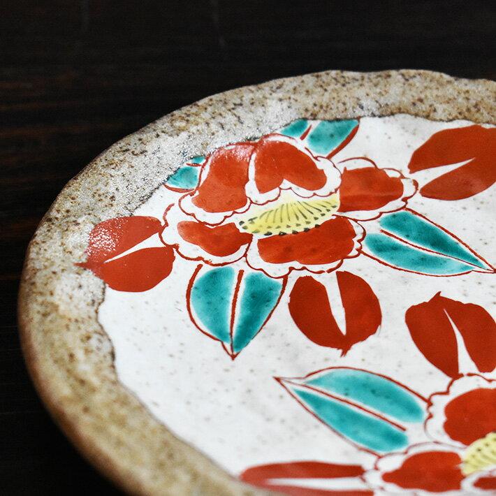 中皿 セット( 径 約16.5cm ) 椿( 和食器 取り皿 おしゃれ セット オシャレ )
