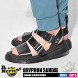 送料無料 ドクターマーチン Dr.Martens メンズ レディース サンダル グリフォンブラック 黒 レザー 本革 コンフォート 靴 男性 女性DR.MARTENS GRYPHON SANDAL 15695001 16821100